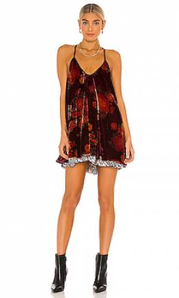 Мини платье two faced - Free People OB1223240