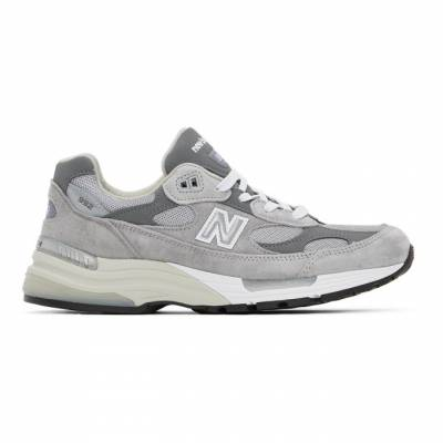 New Balance Grey Made In US 992 Sneakers M992GR - 1
