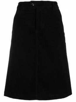 A.P.C. high-waisted midi skirt CODBXF06311