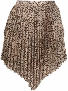 Wandering layered pleated skirt WGW20318