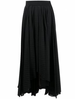 MSGM handkerchief-hem pleated skirt 2942MDD102P207801