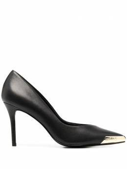 Versace Jeans Couture pointed toe cap detail pumps E0VZBS5371563