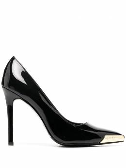 Versace Jeans Couture pointed toe cap detail pumps E0VZBS0971561