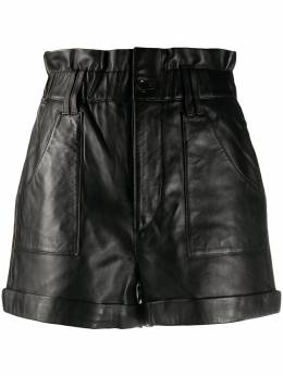 BA&SH Kate leather shorts 1H20KATE