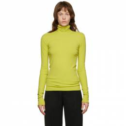 Bottega Veneta Green Viscose Turtleneck 640821 VKJK0