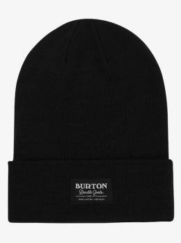 Шапка Burton Mans Kactusbunch Tall Beanie TRUE BLACK 9009520736872