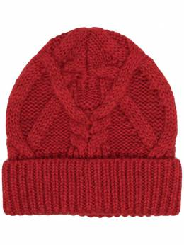 Isabel Marant cable-knit beanie hat BE001120A034A