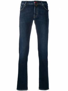 Jacob Cohen logo-patch slim-fit jeans J622SLIM0709