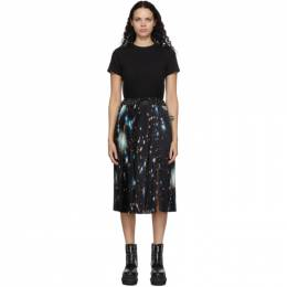 Sacai Black Star Print T-Shirt Dress 20-05291