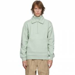 Jacquemus Green Le Double Sweat Sweater 206JS06-206 219500
