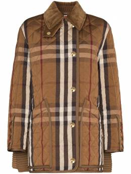 Burberry Quilted checked barn jacket 4565991