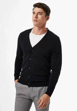 Кардиган Burton Menswear London 27C26RBLK