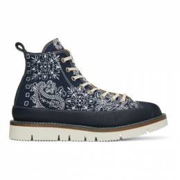 Navy Recouture Edition Bandana Boots COTDSH-503 Children of the Discordance