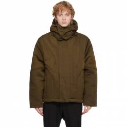 A-Cold-Wall Brown Quilted Suilven Jacket ACWMO030