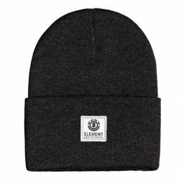 Шапка Element Dusk Beanie OFF BLACK HEATH 2021 3665601180833