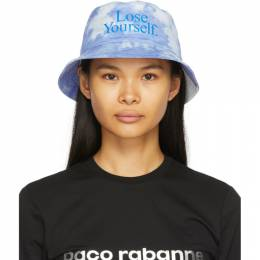 Paco Rabanne Blue Peter Saville Edition Lose Yourself Bucket Hat 21PCAC076CO0397