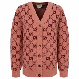 Кардиган Gucci размер 116, pink and red 101097500846