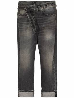 R13 crossover waist jeans R13W2048549A