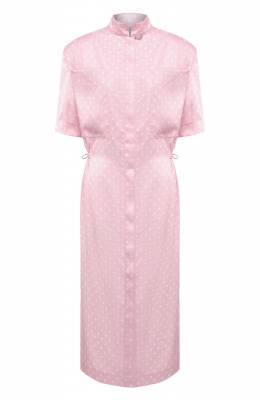 Платье Vetements WE51DR100P 2607/BABY PINK/WHITE
