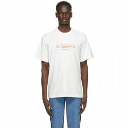Vetements Off-White Think DifferentlyT-Shirt UE51TR620W