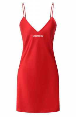 Платье Vetements WE51DR600R 2607/RED