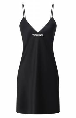Платье Vetements WE51DR600B 2607/BLACK