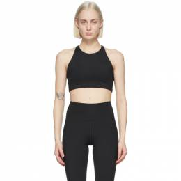 Black Topanga Sports Bra 1001-JB Girlfriend Collective