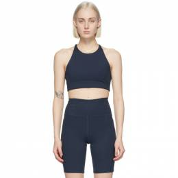 Navy Topanga Sports Bra 1001-TC Girlfriend Collective