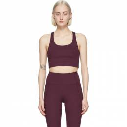Purple Paloma Sports Bra 1002-PP Girlfriend Collective