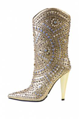 Сапоги-Казаки Jeffrey Campbell STUDLET-798 YELLOW GOLD