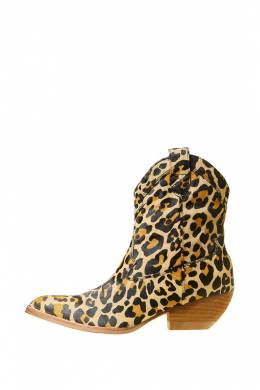 Полусапоги-Казаки Jeffrey Campbell CALVERA-F TAN CHEETAH