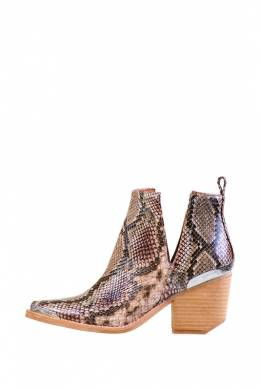 Полусапоги-Казаки Jeffrey Campbell CROMWELL BEIGE BROWN