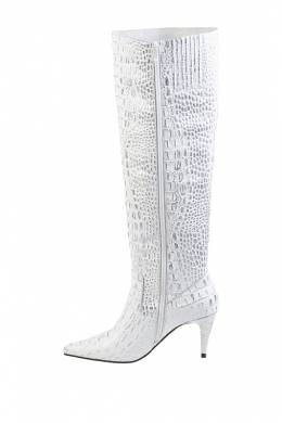 Сапоги Jeffrey Campbell PARALLEL-K-103 WHITE CROCO