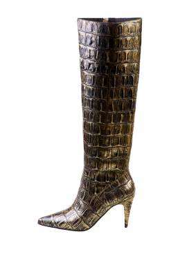 Сапоги Jeffrey Campbell PARALLEL-K-725 GOLD CROCO