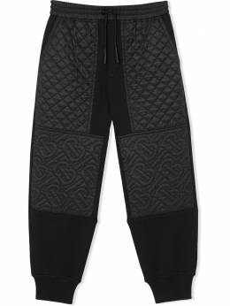 Burberry Kids TEEN quilted track pants 8037458
