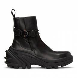 1017 Alyx 9Sm Black Buckle Fixed SKX Sole Chelsea Boots AAUBO0009LE07.S21