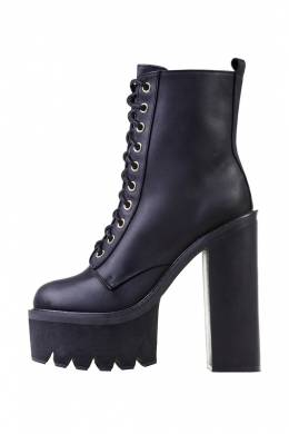 Ботильоны Jeffrey Campbell HBIC-ID BLACK