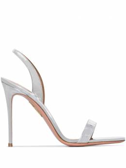 Aquazzura босоножки So Nude 105 SNUHIGS0SPECCC