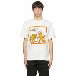 Etudes Off-White Keith Haring Edition Wonder Dancing Dogs T-Shirt E18M-402-10