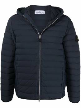 Stone Island down-feather hooded jacket 741544525
