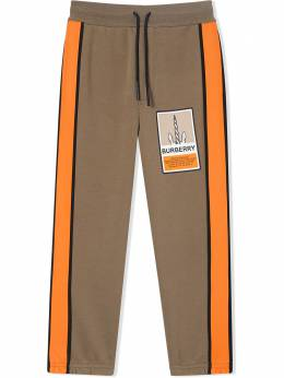 Burberry Kids TEEN graphic-print track pants 8033022