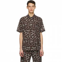 Nanushka Brown Adam Shirt NM21SSSH00178