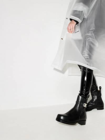 1017 Alyx 9Sm Rollercoaster leather Chelsea boots AAUBO0038LE01S21 - 3