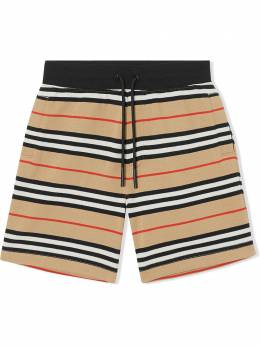 Burberry Kids TEEN Icon Stripe shorts 8037139