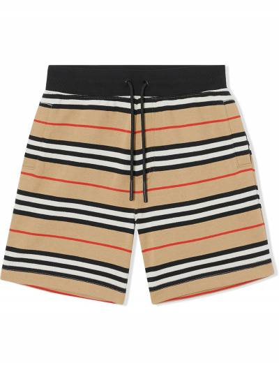 Burberry Kids TEEN Icon Stripe shorts 8037139 - 1