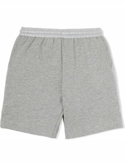 Burberry Kids TEEN monogram-quilted track shorts 8036485 - 3