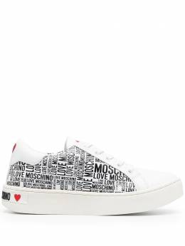 Love Moschino repeat logo sneakers JA15073G1CIJ2