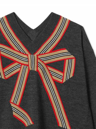 Burberry Kids TEEN Icon Stripe knitted dress 8033057 - 4