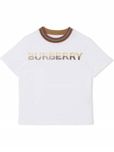 Burberry Kids TEEN confectionery print T-shirt 8036937 - 1