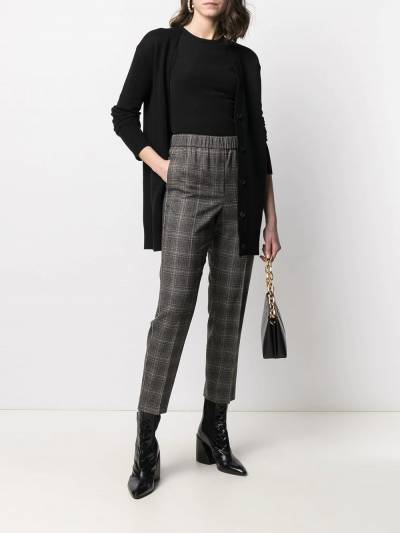 Peserico cropped checked trousers P0457208305 - 2